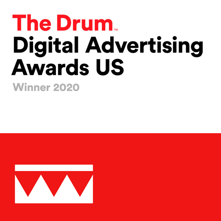 The Drum Digital Advertising Awards US Winner 2020